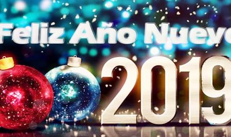 ¡Feliz año nuevo 2019 latinos!