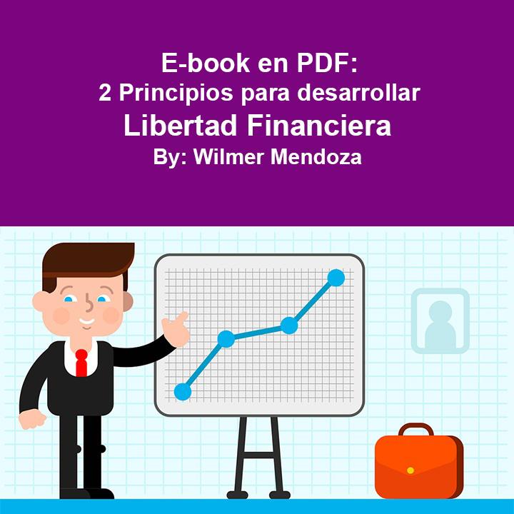 """E-book: """"2 principios para desarrollar libertad financiera"""""""